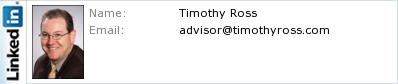 Timothy Ross's LinkedIn profile